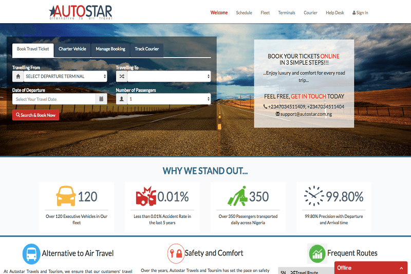 Autostar Travels and Tourism